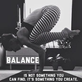 balance is created