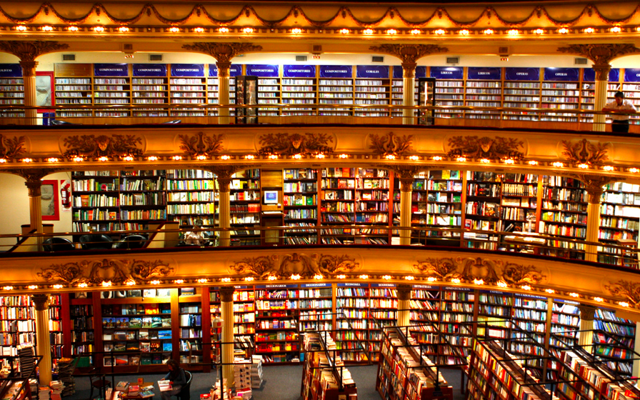 Worlds Largest Book Store - Located in Argentina